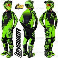 Answer Racing 2019 Syncron Drift Hyper Acid Black Green Jersey Pants Combo Kit