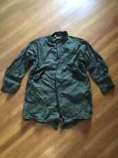MINT VTG NOS MILITARY U.S ARMY M 51 FISHTAIL ARCTIC PARKA S 1951 1982 Med
