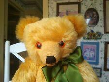 Large Ltd. Ed. mohair Merrythought Teddy Bear for Harrod's England UK 17in EUC