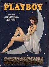 December 1973 Playboy Christine Maddox Bonita Lu Rossi Ali McGraw  RCVR