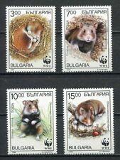 37837) BULGARIA 1994 MNH** WWF Cirellus Cirellus 4v