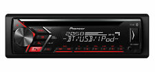 PIONEER deh-s4000bt Autoradio con Bluetooth USB mp3 AUX CD IPHONE TASTI ROSSA
