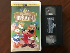 Walt Disney's Masterpiece Collection Fun And Fancy Free (VHS) 50 th Anniversary