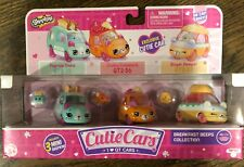 Cutie Cars - Breakfast Beeps Collection pk of 3 New and seal