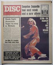 DISC & MUSIC ECHO Magazine 6/11/1971 Velvet Underground Elton John Maggie Bell