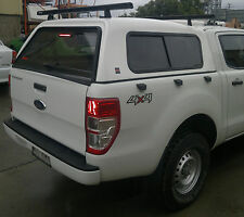 DUAL CAB UTE CANOPY FOR FORD RANGER 2012+ SMOOTH FINISH - CURRENT MODEL