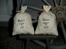 """1:6 scale German """"Apples and Turnips"""" food supply sacks for Field Kitchen"""