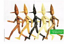 PUBLICITE  ADVERTISING  1991   UNITED COLORS OF BENETTON  ( 2 pages)
