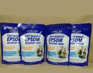 Post-Workout Citrus Scented Epsom Salt, 16 oz. Bag (4 COUNT) PW5