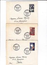 18136  Premier sur enveloppe ordinaire