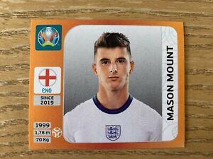 Panini Euro 2020 Tournament Edition Orange sticker Mason Mount #415 England