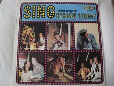 SING THE HIT SONGS OF SESAME STREET VINYL LP 1974 CHILDREN'S TELEVISION WORKSHOP