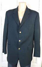 BURBERRY Sakko Jacke Jacket 3-Kopf Schwarz Gr. 106 (W210)