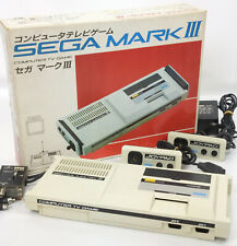 SEGA MARK III 3 Console System Boxed Tested Ref 4661597 Made in JAPAN Game