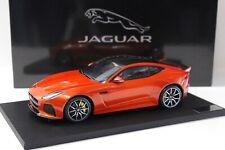 1:18 True Scale Jaguar F-Type SVR Coupe Fire orange NEW bei PREMIUM-MODELCARS