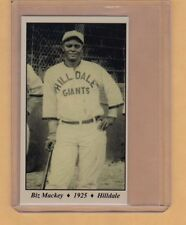 Biz Mackey - 1925 Hilldale Giants Negro League Tobacco Road series #19