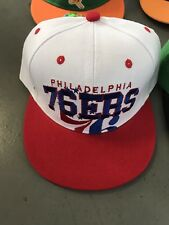 Philadephia 76ers snapback Hats One Size Fits All