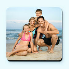 Personalised Custom Photo Fridge Magnet - Wooden