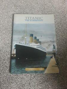 Titanic Memorabilia the exhibition official souvenir brochure