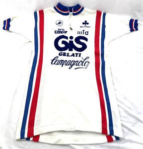 Castelli GIS Gelati Vintage Cycling Jersey Size 4 Campagnolo / Wool