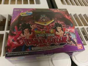 Dragon Ball Super TCG Vermilion Bloodline BOOSTER BOX SEALED NEW!!!