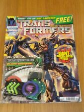TRANSFORMERS ROBOTS IN DISGUISE #13 JULY 2008 + FREE BLADE SHOOTER UK MAGAZINE =