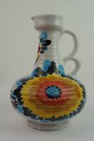 Vintage 70er Vase Krug Kanne Keramik German Ceramic Blumenvase 60er