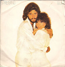 "Barbra Streisand&Barry Gibb Guilty UK 45 7"" single +Picture Sleeve"
