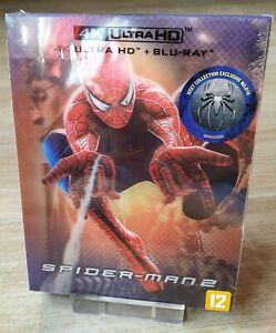 Spider-Man 2 WEET Collection Steelbook Lenticular Slip 4K/2D Blu-ray New Sealed