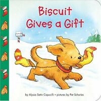 Biscuit Gives a Gift by Alyssa Satin Capucilli