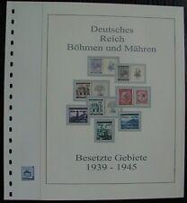 Böhmen u. Mähren 1939 - 1944  Vordruck farbig TOP alle Bilder in Beschreibung