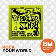 12 Sets Ernie Ball 2221 Nickel Regular Slinky Electric Guitar Strings 10-46