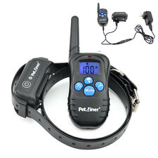 Petrainer LCD Electric Remote Dog Training Shock Collar Waterproof Rechargeable