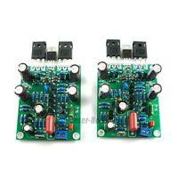 2pcs L7 300W*2 4R / 150W*2 8R Class AB Amplifier Board IRFP240 IRFP9240 FET
