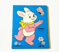 Vintage Playskool Puzzle Peter Rabbit 6 Pieces