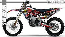 YAMAHA YZ450F 2010 2011 2012 2013 MAXCROSS GRAPHICS KIT DECALS STICKERS A7 KIT