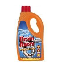 Duzzit Drain Away Drain Unblocker Liquid Formular Sink Bath Shower - 500Ml