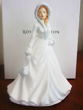 Royal Doulton Pretty Ladies WHITE CHRISTMAS Petite - NEW / BOX