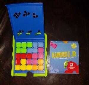 Kanoodle JR Twist Puzzle Educational Brain Toy Blue/ Green