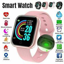 Водонепроницаемая Bluetooth Smart часы телефон мат для iPhone iOS Android Samsung Lg