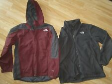 THE NORTH FACE Mens Zip Hooded HyVent Jacket w Separate Fleece Lining XL X-Large