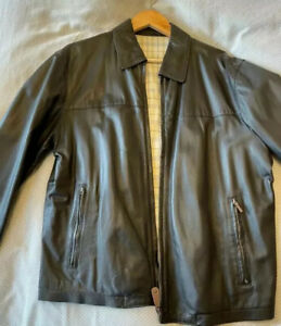 Pal Zileri Brown Leather Jacket - XL  Only Worn A Few Time.  Great Condition