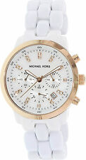 Michael Kors MK5487 MOP Dial White Ceramic Women's Watch