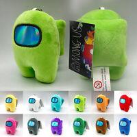10cm Toy Among Us Game Plush Soft Stuffed Doll Game Figure Plushie Kids Gift
