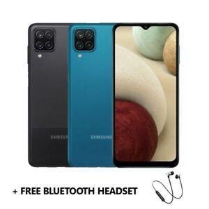 New Samsung Galaxy A12 6.5 Inch 48MP 4GB 128GB DUAL SIM FACTORY UNLOCKED PHONE