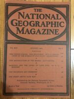(REPRINT!) National Geographic Magazine August 1903 Vol. XlV No.8, The Railroad