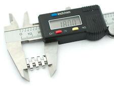 MICHELE MS18EV235009 Serein 18mm Stainless Steel Silver Watch Bracelet LINK