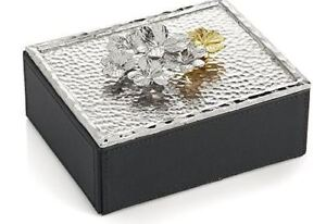 NEW - Michael Aram Clover Jewelry / Trinket Box