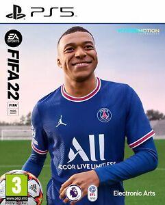 FIFA 22 Inc Bonus FUT Packs (PS5) Brand New & Sealed Free UK P&P