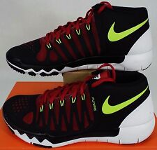 ULTRA RARE SAMPLE New Mens 10 NIKE Free 7.0 TR Black Maroon Shoes 684623-076